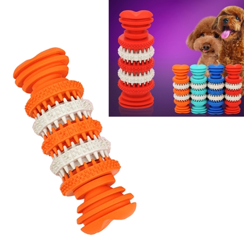 Buy Dog Toy for Pets Tooth Cleaning Chewing Toys of Non-Toxic Soft Rubber, Small Size,Length:12cm for $4.96 in SUNSKY store