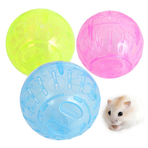 Buy Pet Small Toy Hamster Running Ball, Random Color Delivery, Size: Diameter: 10cm for $1.47 in SUNSKY store