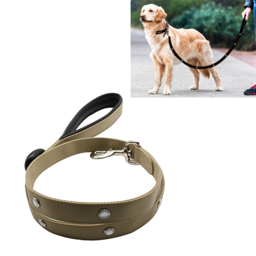 Buy PVC Webbing Material Waterproof LED Light Traction Belt Pet Dogs Traction Rope with Handle, Suitable For Medium and Large Dogs, Rope Length: 120 cm, Grey for $17.84 in SUNSKY store