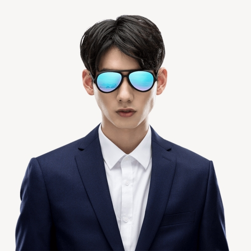 Original Xiaomi TS STR015-0105 Ice Blue Pilot Sunglasses
