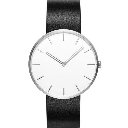 Original Xiaomi TwentySeventeen Fashion Quartz Leather Band Wristwatch (Black)