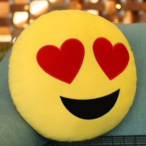 Creative Emoji Throw Pillow Back Pillow, Size: About 28cm x 28cm фото