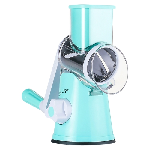 Hand-operated Multi-functional Vegetable Chopper Cheese Slicing Machine, Random Color Delivery corn rice multi functional food extrusion moulding machine without motor and rack