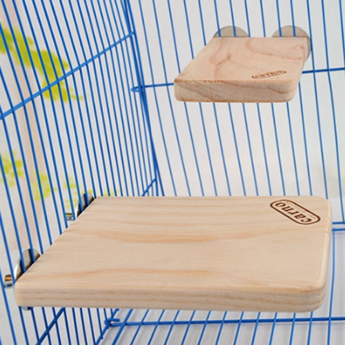 Buy Pet Wooden Rectangular Springboard Hamster Small Pets Pedal Toys, Small for $3.23 in SUNSKY store