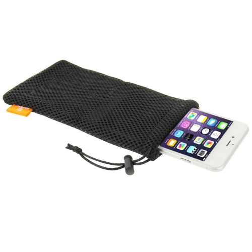 HAWEEL Pouch Bag for Smart Phones, Power Bank and other Accessories, Size same as 5.5 inch Phone(Black) фото