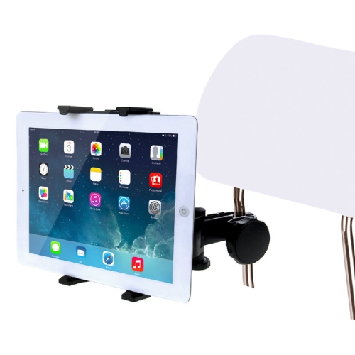 HAWEEL Universal Car Back Seat Tablet Mount Holder, For iPad Air / iPad 4 / iPad mini, Galaxy Tab, 7-11 inch Tablet PC(Black) universal full rotating gooseneck mount stand for 7 tablet pc ipad mini black
