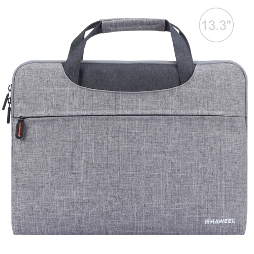 HAWEEL 13.3 inch Zipper Handheld Laptop Bag, For Macbook, Samsung, Lenovo, Sony, DELL Alienware, CHUWI, ASUS, HP, 13.3 inch and Below Laptops(Grey) top quality for hp laptop mainboard envy4 envy6 708977 001 laptop motherboard 100% tested 60 days warranty