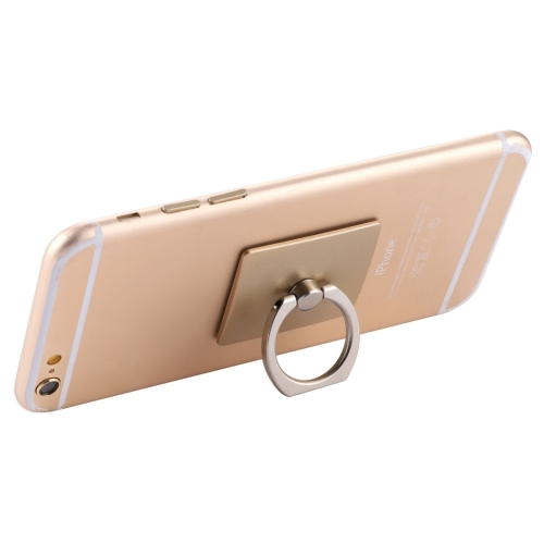 Sunsky 360 Degrees Rotation Ring Holder, For iPhone, Galaxy, Sony, Lenovo, HTC, Huawei, and other Smartphones(Gold) фото