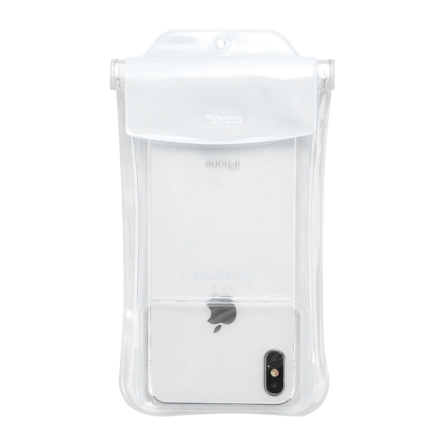 Baseus Portable Mobile Phone Safety Airbag Waterproof Protective Case(White)