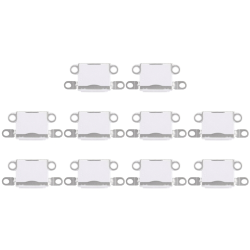 10 PCS Charging Port Connector for iPhone 5 / 5S(White)