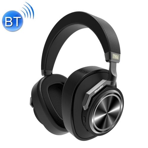 Bluedio T6S Bluetooth Version 5.0 Headset Bluetooth Headset Support Headset Automatic Playback(Black)