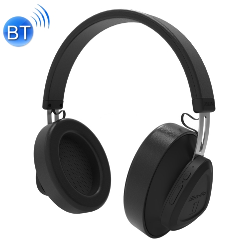 Bluedio TM Bluetooth Version 5.0 Headset Bluetooth Headset Can Connect Cloud Data to APP(Black)