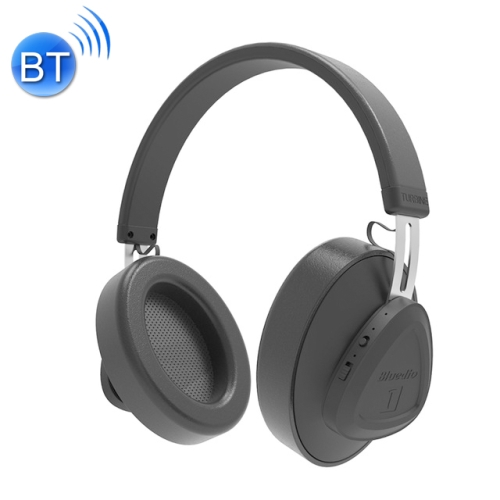 Bluedio TMS Bluetooth Version 5.0 Headset Bluetooth Headset Can Connect Cloud Data to APP(Black)