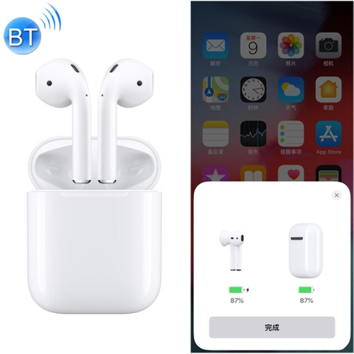 Bluetooth 5.0 Wireless Stereo Earphones with Charging Case, Support iOS Pop-up Window Pairing & Touch Function