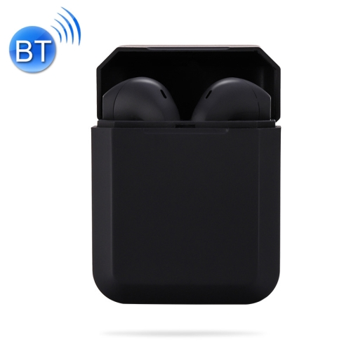 InPods 2 TWS V5.0 Wireless Bluetooth HiFi Headset with Charging Case, Support Auto Pairing & Touch Control (Black)