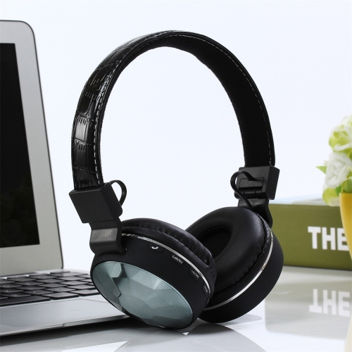 S36 Bluetooth 4.2 Bluetooth Headphone, Support Music Play & Switching & Volume Control & Answer (Black)