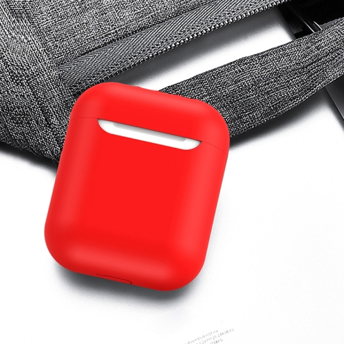 TOTUDESIGN Glory Series FGRG-002 2 in 1 TWS Bluetooth Earphone Shockproof Drop-proof Silicone Case + Magnetic Anti-lost Rope Set for AirPods(Red)