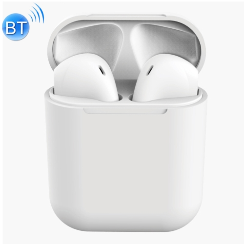 InPods 12 HiFi Wireless Bluetooth 5.0 Earphones with Charging Case, Support Touch & Voice Function (White) фото