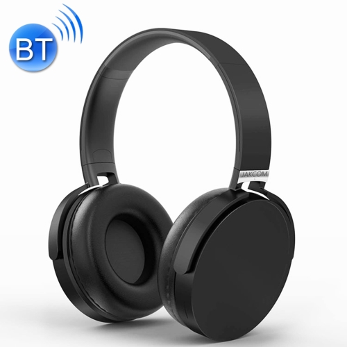 JAKCOM BH2 Wireless Headphones Smart Bluetooth V4.1 Headset with Microphone, For iPhone, Samsung, Huawei, Xiaomi, HTC and Other Smartphones, All Audio Devices(Black) 50pcs t6 bluetooth wireless headphone stereo music headset with microphone headband style earphone for iphone huawei xiaomi