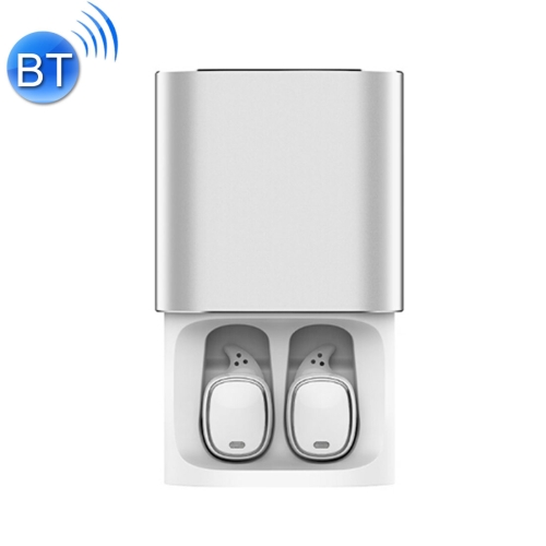 QCY T1 Pro Wireless V4.2 Bluetooth Earphones with Mic, For iPad, iPhone, Galaxy, Huawei, Xiaomi, LG, HTC and Other Smart Phones (White)