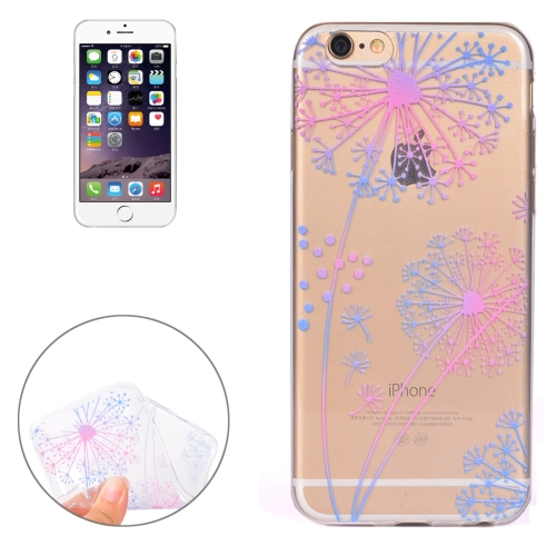 Buy For iPhone 6 & 6s Colorful Dandelion Pattern Soft TPU Protective Case for $1.11 in SUNSKY store