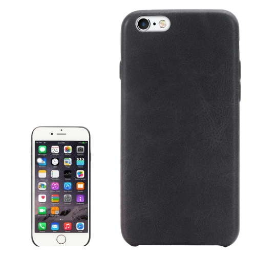 Buy For iPhone 6 & 6s Crazy Horse Texture Protective Back Case, Black for $2.00 in SUNSKY store