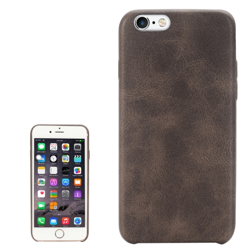 Buy For iPhone 6 & 6s Crazy Horse Texture Protective Back Case, Coffee for $2.00 in SUNSKY store