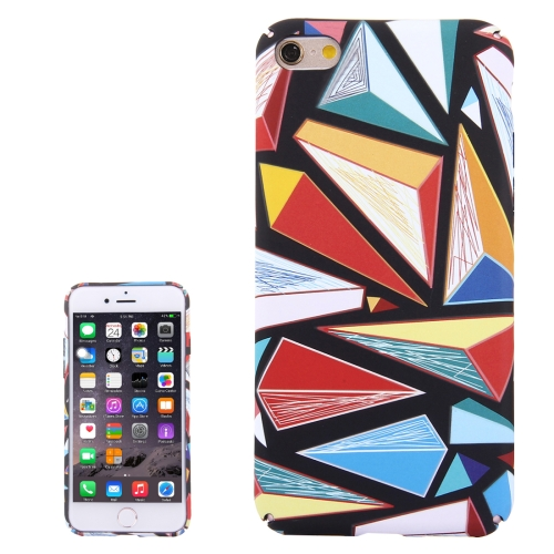 Buy For iPhone 6 & 6s Water Decals Color Diamond Pattern PC Protective Case for $2.97 in SUNSKY store