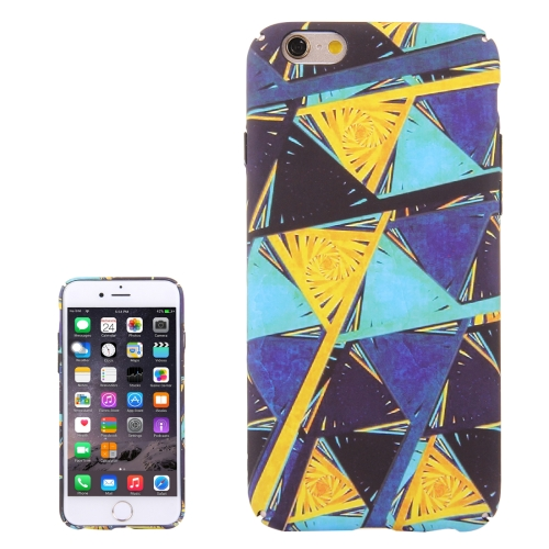 Buy For iPhone 6 & 6s Water Decals Color Triangle Design Pattern PC Protective Case for $2.97 in SUNSKY store