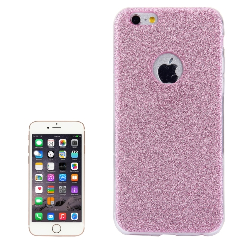 Buy For iPhone 6 & 6s Glitter Powder Soft TPU Protective Cover Case, Pink for $1.45 in SUNSKY store
