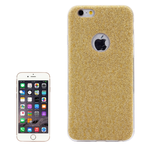 Buy For iPhone 6 & 6s Glitter Powder Soft TPU Protective Cover Case, Gold for $1.45 in SUNSKY store