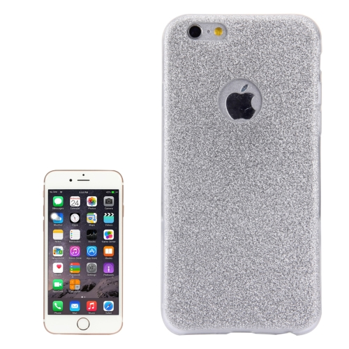 Buy For iPhone 6 & 6s Glitter Powder Soft TPU Protective Cover Case, Silver for $1.45 in SUNSKY store