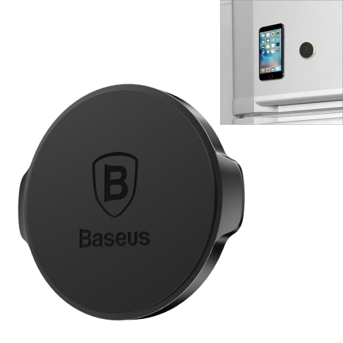 Baseus Small Ears Series Magnetic Suction Bracket (Flat type) for iPhone, Samsung, Sony, HTC, Nokia, LG Mobile Phone, Black