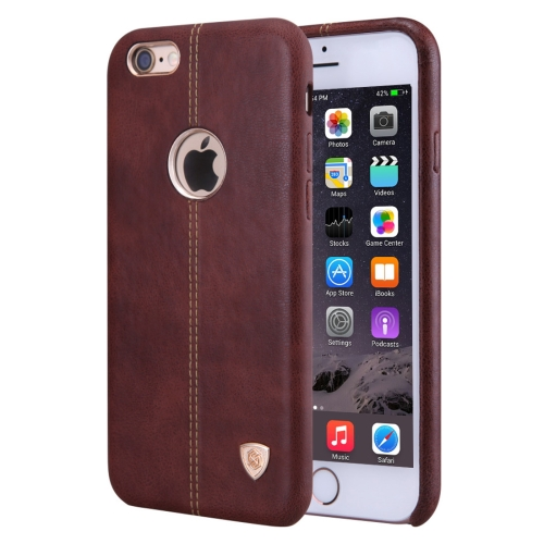 Buy NILLKIN Englon Case for iPhone 6 & 6s Business Style Crazy Horse Leather Surface PC Protective Case Back Cover with Soft Microfiber Lining, Brown for $6.67 in SUNSKY store