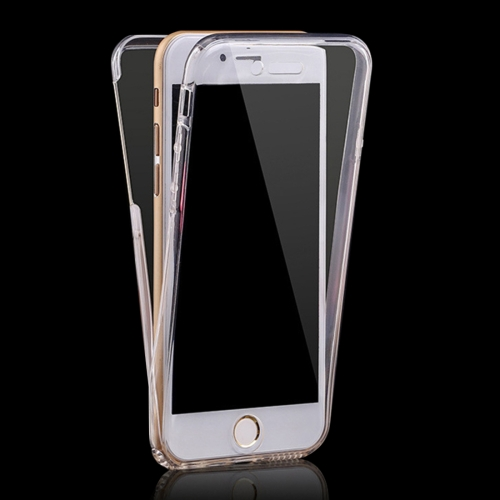 For iPhone 6 & 6s 0.75mm Double-sided Ultra-thin Transparent TPU Protective Case(Transparent)