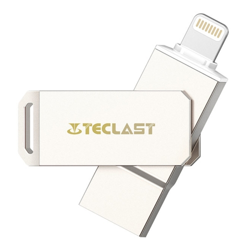 Buy Teclast MagicDisk Mini Apple MFi 64GB 8pin to USB 3.0 Flash Disk Drive with Fingerprint Identification Function for $43.68 in SUNSKY store