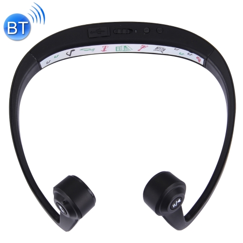 Buy LE-V9 Ear Hook Bone Conduction Bluetooth 4.1 Sports Headphone Headset with Mic for $26.09 in SUNSKY store