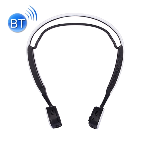 Windshear Ear Hook Bone Conduction Bluetooth V4.0 Headphone Headset with Mic, Support Calling Function, White