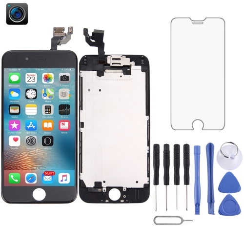LCD Screen and Digitizer Full Assembly for iPhone 6(Black)