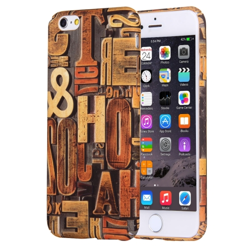 Buy For iPhone 6 & 6s Water Decals Retro Style Pattern PC Protective Case for $2.76 in SUNSKY store