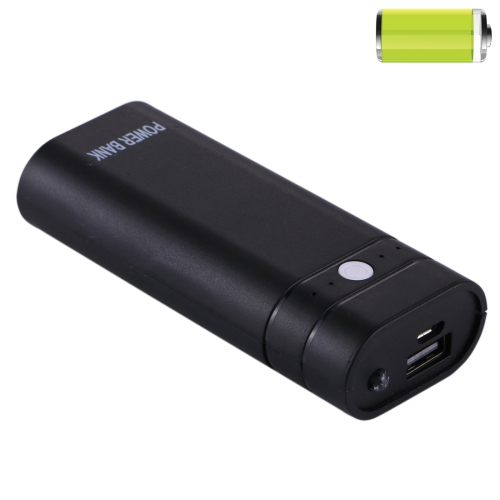 Buy DIY 2x 18650 Battery (Not Included) 5600mAh Power Bank Shell Box with 1.5A USB Output & Indicator, Random Color Delivery for $1.89 in SUNSKY store