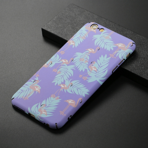 Buy For iPhone 6 & 6s Purple Moltres Pattern Luminous Protective Back Cover Case for $2.67 in SUNSKY store