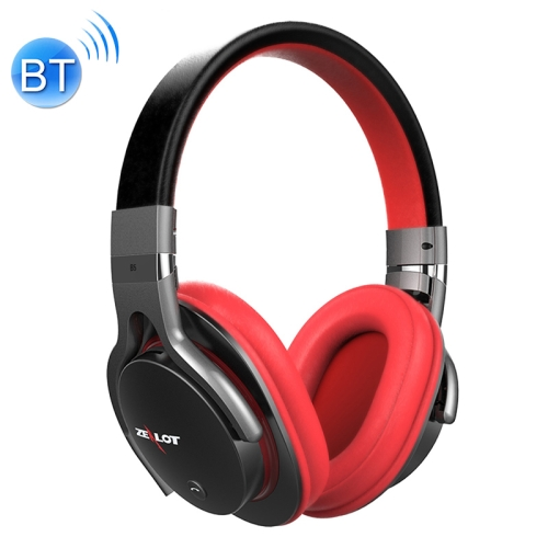 Buy ZEALOT B5 Stereo Wired Wireless Bluetooth 4.0 Headphone Subwoofer Headset Ear Cup with 40mm Speaker & HD Microphone for $23.15 in SUNSKY store