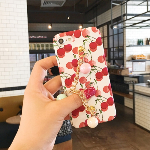 Buy For iPhone 6 & 6s Summer fruit pattern Acrylic Protective Case with Chain for $4.21 in SUNSKY store