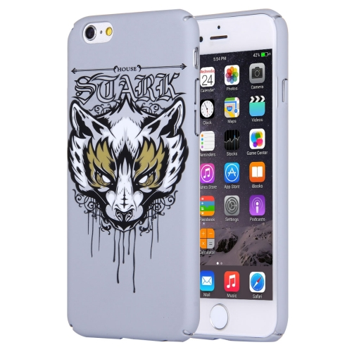 Buy For iPhone 6 & 6s Water Decals Cartoon Animal Fox Pattern PC Protective Case for $2.76 in SUNSKY store