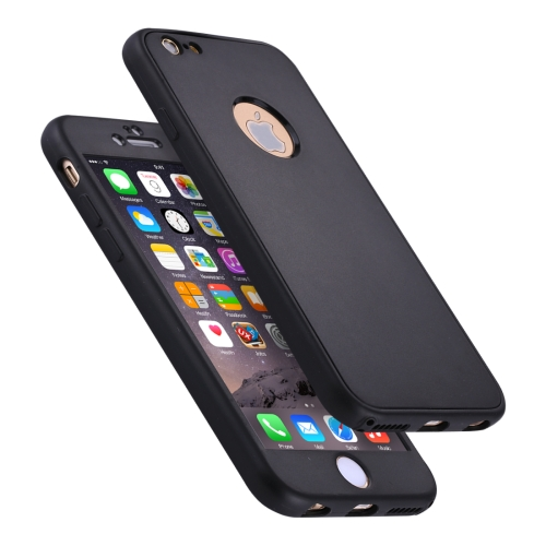 Buy For iPhone 6 & 6s Stylish Lightweight 360 Degree Shockproof Detachable TPU + PC Combination Protective Case, Black for $2.02 in SUNSKY store