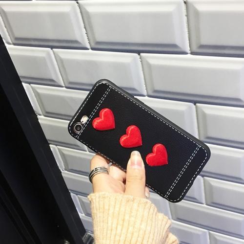 Sunsky Cho Iphone 6 6 S Trái Tim đỏ Bảo Hiểm đầy đủ Vỏ