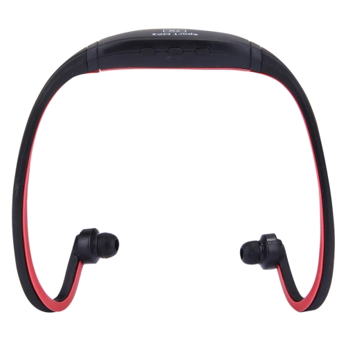 SH-W1FM Life Waterproof Sweatproof Stereo Wireless Sports Earbud Earphone In-ear Headphone Headset with Micro SD Card, For Smart Phones & iPad & Laptop & Notebook & MP3 or Other Audio Devices, Maximum SD Card Storage: 8GB(Red)