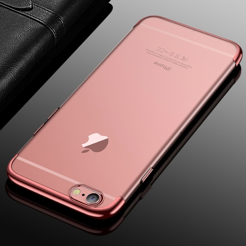 Buy CAFELE For iPhone 6 & 6s Color Electroplating TPU Soft Protective Back Cover Case (Rose Gold) for $3.28 in SUNSKY store
