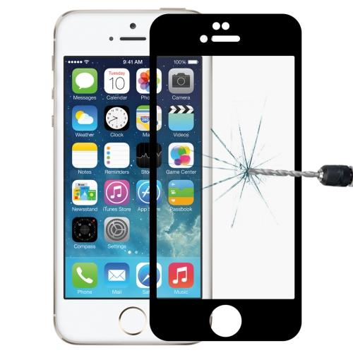 Anti-scratch 9H 10D Full Screen HD Tempered Glass Film for iPhone 6 & 6s(Black)